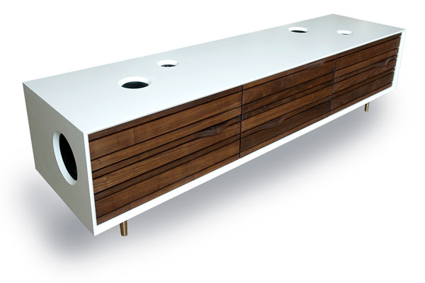Superieur Stereo Cabinet. This Retro Looking Credenza ...