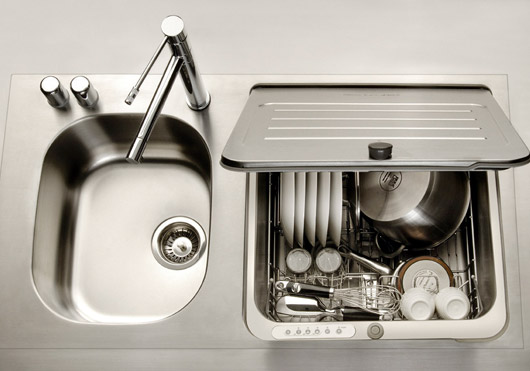 Dishwasher Sink : In-Sink Dishwasher ? Shoebox Dwelling Finding comfort, style and ...